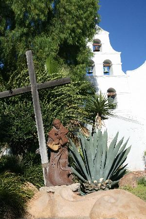 Mission San Diego de Alcala : Bell tower