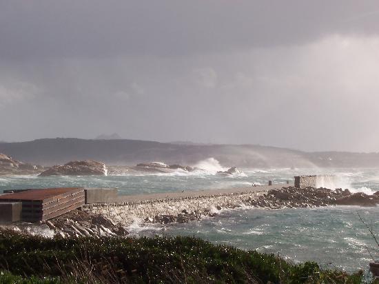 Maddalena Islands, Italy: Punta Tegge