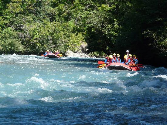 Résidence CGH Les Fermes de Sainte Foy : descente en rafting : à faire absolument