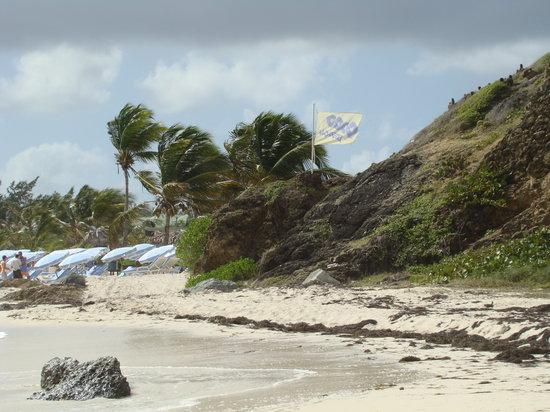 Orient Bay, St. Maarten-St. Martin: Orient Beach