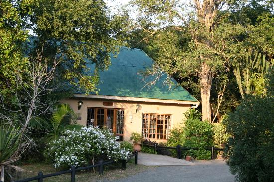 Gooderson Bushlands Game Lodge: Die Rezeption