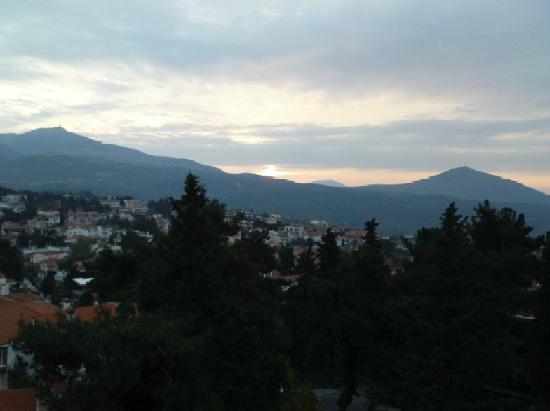 Panorama, Greece: View from Pefka Hotel