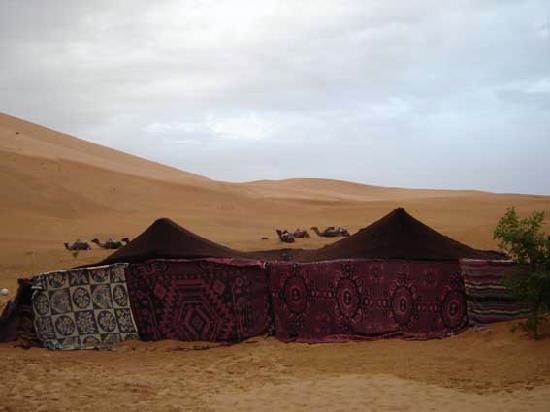 Merzouga Morocco Bedouin tent - Desert Sleeping Accommodation & Bedouin tent - Desert Sleeping Accommodation - Picture of Merzouga ...