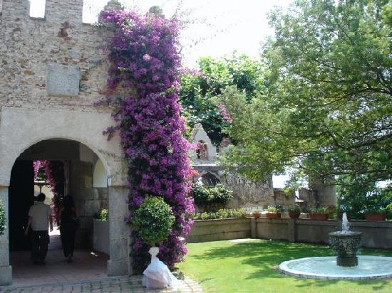 Castell de l'Oliver Hotel: The entrance