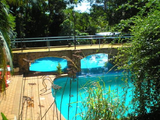 Cabanas Del Lenador Hotel : pool