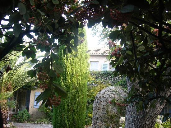 Hotel Lou Cagnard: the gardens