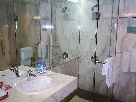 Beijing International Hotel: Baño