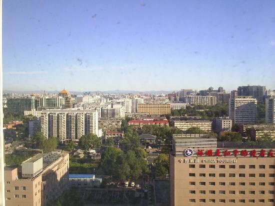 Beijing International Hotel: Vistas hotel-Dia despejado