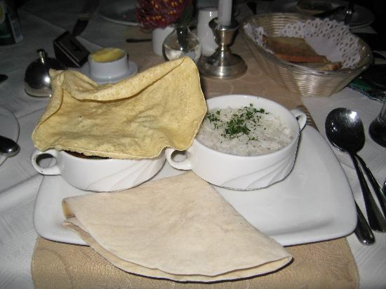 Moorcroft Manor: The Durban curry in Morrcroft restaurant