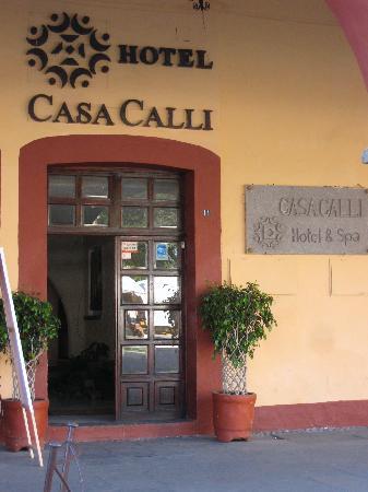 Casa Calli Hotel & SPA: Hotel Entrance