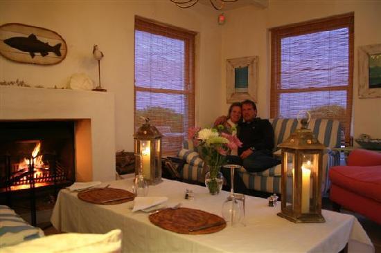 Sunset Beach Guest House: dinner