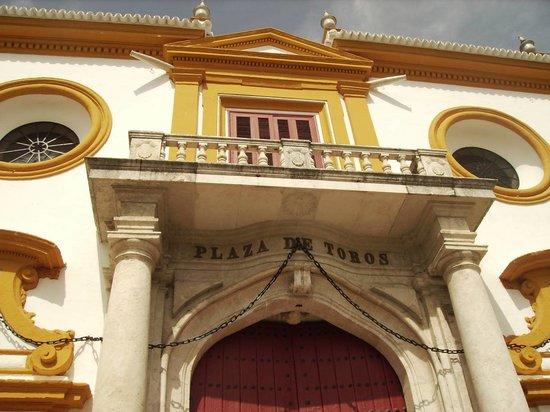 Sevilla, Spanien: plaza de toros