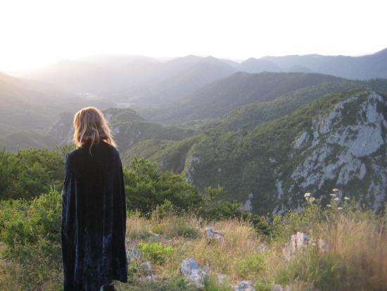 Tindleys: Sunrise on Montsegur