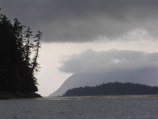 Edna Bay, AK: Summer-Rain