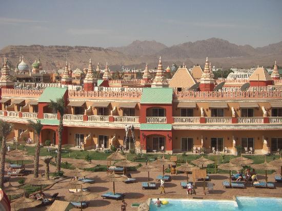 Aqua Blu Sharm : vue de l'hotel