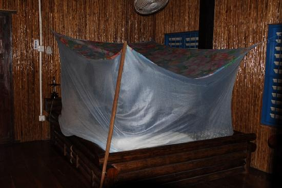 Les Manguiers: Fan + mosquito net only