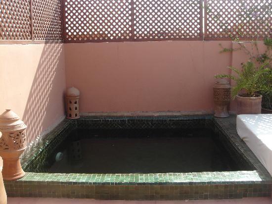 Riad Petit Karmela: piscina