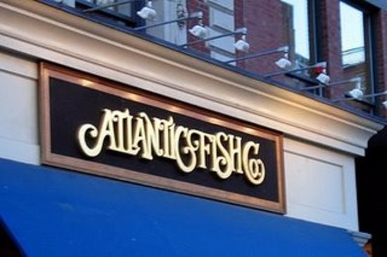 Outside of Atlantic Fish Company