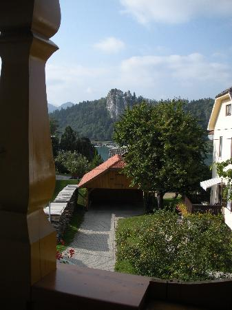 Penzion Mayer: View of the castle from our room