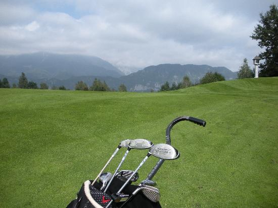 Penzion Mayer: Golfing in Bled