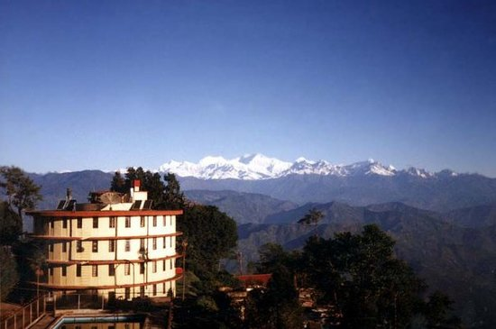 Darjeeling, Indie: the range of the infamous peaks