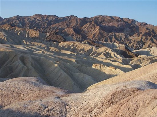 Death Valley Junction, Californië: Zabriskie Point