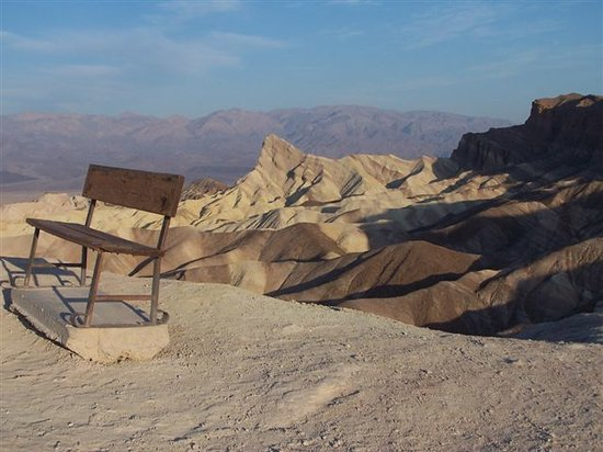 Death Valley Junction, Californien: Zabriskie Point