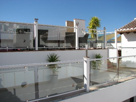 Hotel Palacio Blanco: Pool area