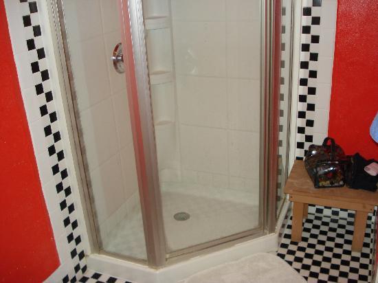 Hostelling International San Diego Downtown: Tidy Shower