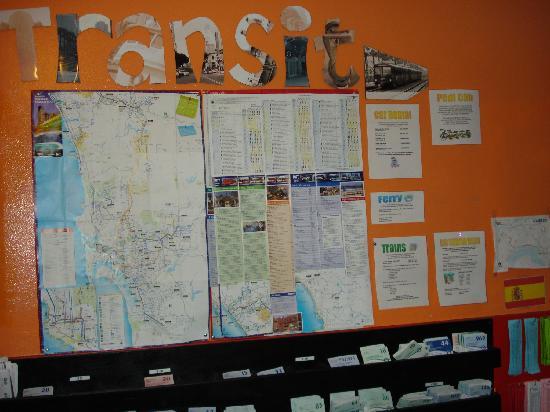 Hostelling International San Diego Downtown: Transit info