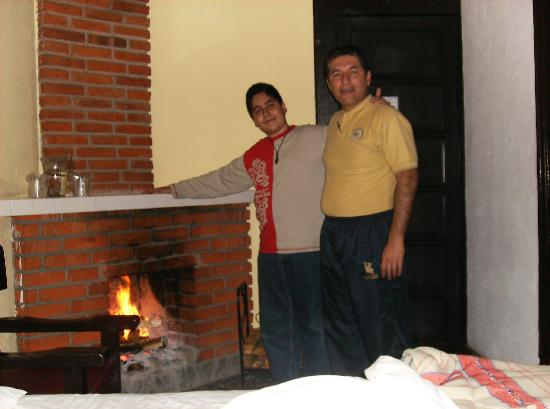 Uruapan, Mexico: Interior del cuarto.