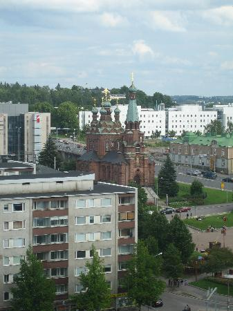 View of Russian Orthodox Church