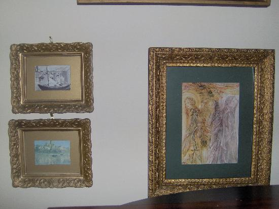 Gibson's Lodgings: Just a sampling of the art