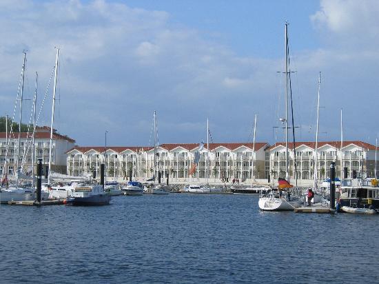 Boltenhagen, Tyskland: Hotel von der Seeseite