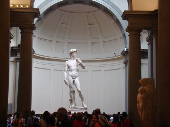 Accademia Gallery: David, Galerie de l´Academie