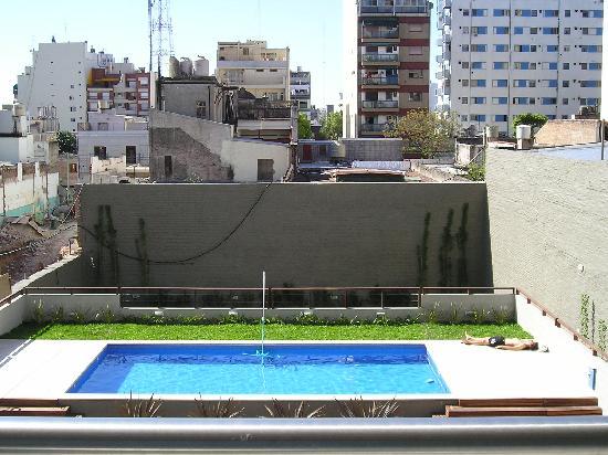 District fédéral autonome de Buenos Aires, Argentine : vista desde el balcon edificio Espacio Corrientes