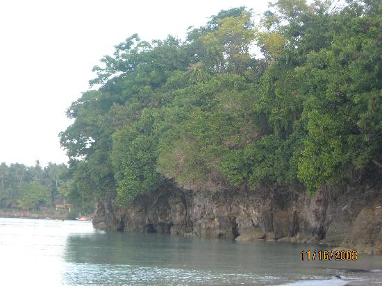 Glan, Philippines: caves....