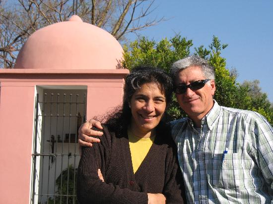 Coronel Moldes, Argentina: Carlos and Valentina - Our Hosts