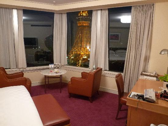 The Prince Park Tower Tokyo: Premium Double with Tokyo Tower View