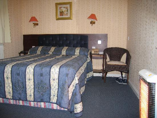 Delicieux Bourne Hall Hotel: The Bedroom With Space Heater To The Right.
