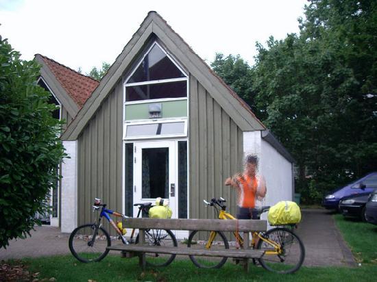 Danhostel Helsingor Vandrerhjem : habitación y las bicis