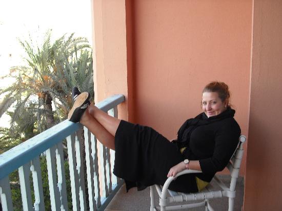 Hotel de la Menara: Balcony