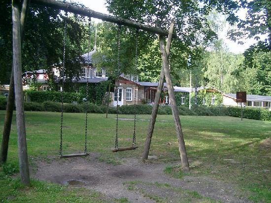 Danhostel Aarhus: jardín