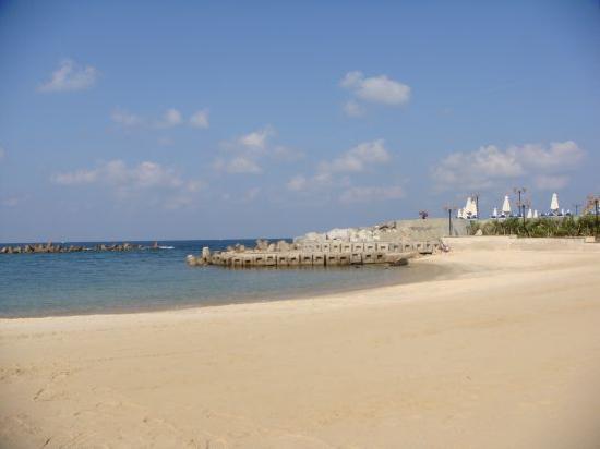 Mediterranean Azur Hotel: The beach