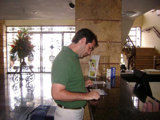 Hotel Windsor: Check-in