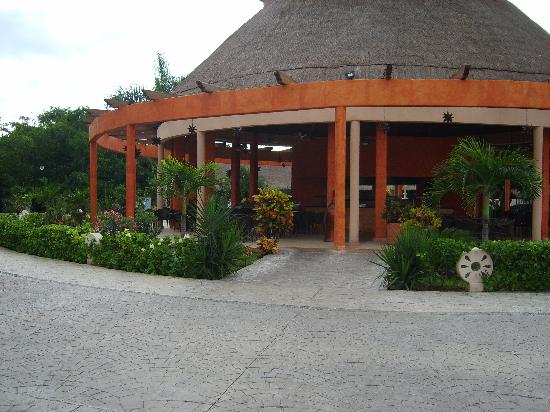 Sandos Caracol Eco Resort: snack ouvert 24h/24h
