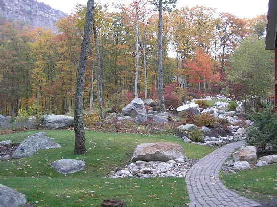 Minnewaska Lodge: Rear Grounds