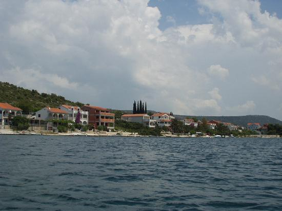 Rogoznica, Kroatien: bay by the Braso's place