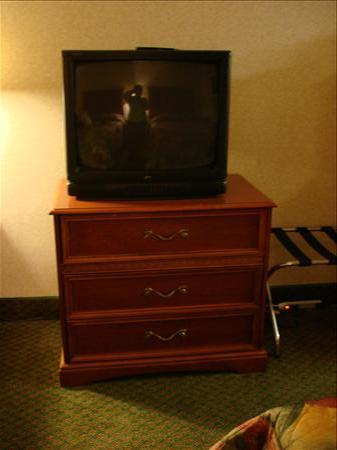 BEST WESTERN Fairfax: TV and Dresser