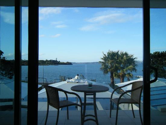 Paihia Beach Resort & Spa: Our room with a view